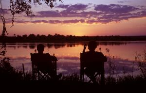Sundowners at Tongabezi