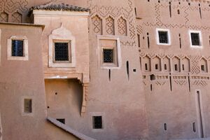 Taourirt Kasbah, Ouarzazate, Atlas Mountains, Morocco, North Africa