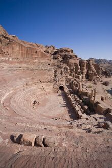 Theatre, Petra (UNESCO World Heritage Site)