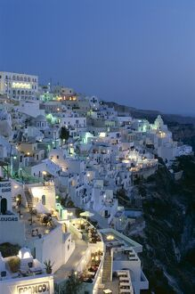 Thira (Fira), Santorini, Cyclades Islands, Greece
