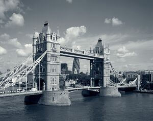 Tower Bridge & Thames River