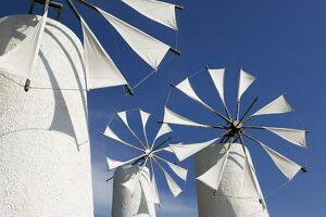 Traditional Cretan Windmills
