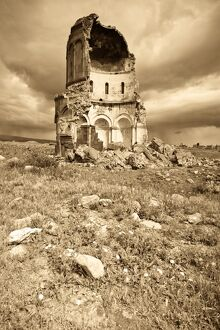 Turkey, Eastern Turkey, Kars, Ani Ruins, Church of the Redeemer