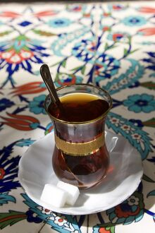 Turkish tea, Istanbul, Turkey