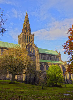 new/20191004 awl 8/uk scotland lowlands glasgow view the cathedral