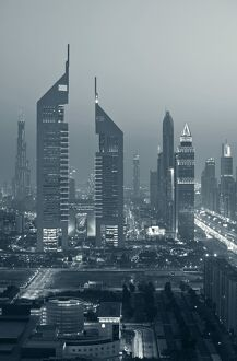 UNITED ARAB EMIRATES (UAE)-DUBAI-Sheik Zayed Road Area