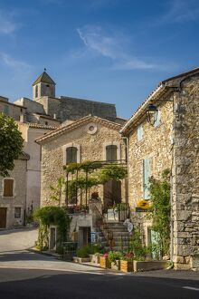 View of the village of Aurel, Provence, France