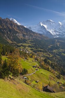 Wengen & Lauterbrunnen valley, Berner Oberland, Switzerland