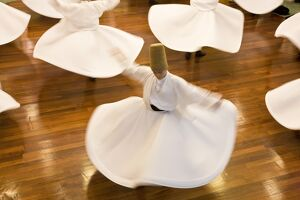 Whirling Dervishes, Istanbul. Turkey