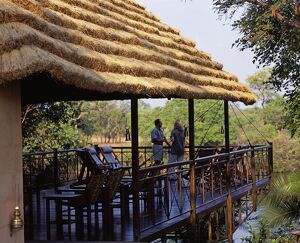 Zambia, Kafue National Park, Lunga River Lodge