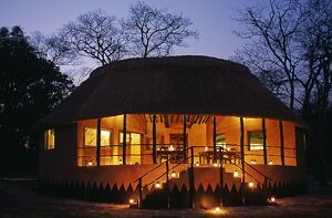 Zambia; Kasanka national park, Wasa lodge