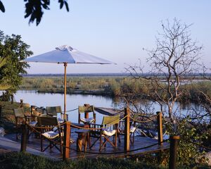 Zambia, Lower Zambezi National Park, Sausage Tree Camp