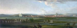 Nottinghamshire from the South - George Lambert (style of)