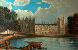 West View of Newstead Abbey, Nottinghamshire