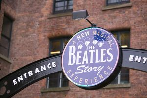 The Beatles museum in Liverpool UK
