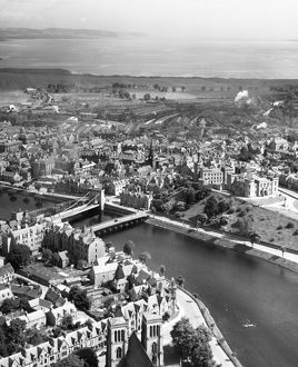 City Centre, Inverness, 1947