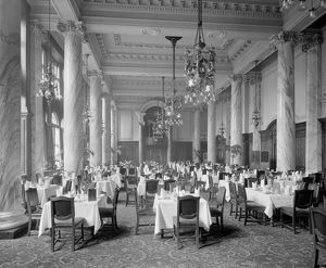 Dining room, Central Hotel, Central Station, Gordon Street, Glasgow