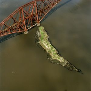 Forth Railway Bridge, Inchgarvie, 1998