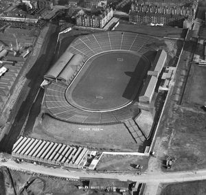 Ibrox Stadium, Glasgow, 1927.