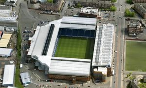 Ibrox Stadium, Glasgow, 2008.