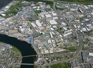 Industrial district, Inverness, 2009.