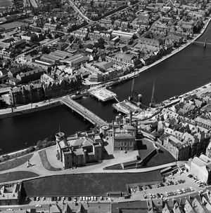 Inverness Castle, Inverness, 1961.