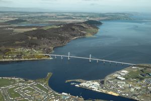 Kessock Bridge, Inverness, 2007.