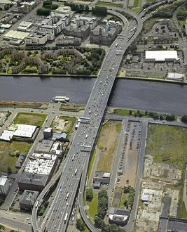 Kingston Bridge, Glasgow, 2007