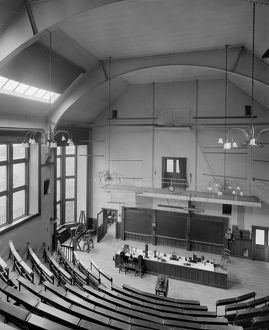 Lecture theatre for Physics and Astronomy, University of Glasgow, University Avenue