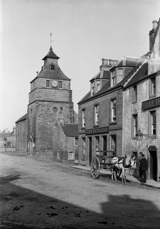 Tolbooth and Town Hall, Marketgate, Crail, Fife