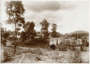 View of bobbin mill at Kinrara, near Aviemore. Date: 1893