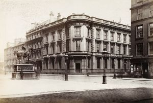 View of the British Linen Bank, Glasgow. Since demolished. Date: c1885