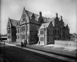 View of Bruntsfield Primary School, Montpelier, Edinburgh. Date: 1895