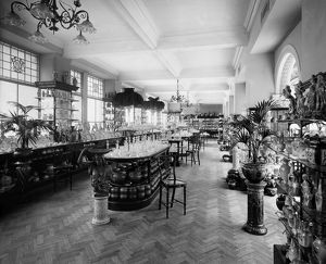 View of the china and glass gallery in Jenner's Department Store, Princes Street