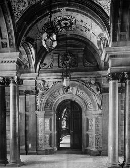 View of the City Chambers, 82 George Square, Glasgow. Date: c1890