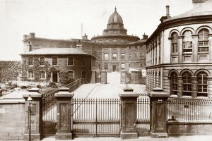 View of the City Poor House, Parliamentary Road, Glasgow. Date: c1880