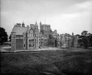 View of Craighouse Asylum, Edinburgh. The building is now part of Napier University