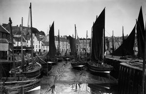 View of East Shore harbour, Pittenweem, Fife. Date: 1889