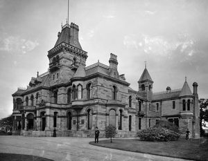 View of Gallowhill House, Paisley. Date: 1890