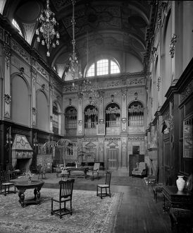 View of the great hall, Craighouse Asylum, Edinburgh