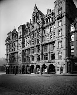 View of Jenner's Department Store, Princes Street, Edinburgh. Date: 1895