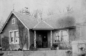 View of the keeper cottage, St Fort House estate, Fife. Date: 1894