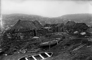 View of Kentangaval township, Barra. Date: 1895