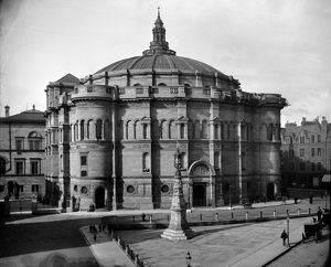 View of McEwan Hall, Teviot Place, Edinburgh. Date: c1900