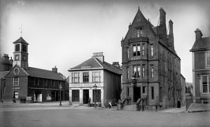 View of the Star Hotel, High Street, Moffat. Date: c1890