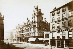 View of the Trongate at junction with Nelson Street, Glasgow, including the City