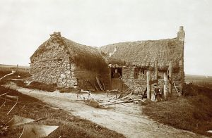 View of unidentified smithy, near Banff. Date: c1893
