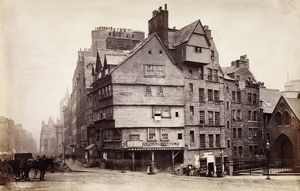 View of West Bow, Edinburgh. Date: c1850