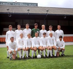 Football League Division Two - Millwall FC Photocall - 01 July 1969