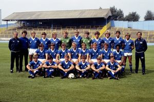 Football League Division Three - Millwall Photocall - The Den - 06 August 1983